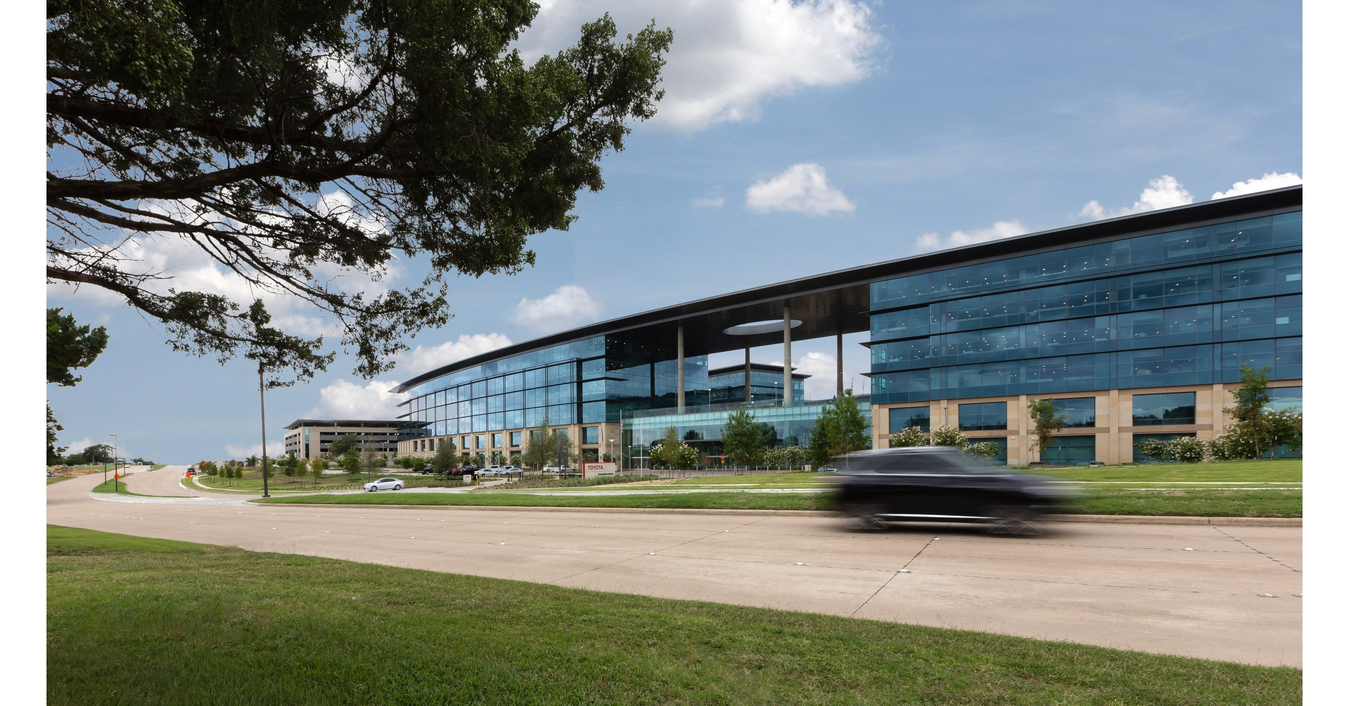 Toyota opens billion dollar state of the art north american headquarters in texas