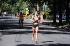Arianne Raby, la gagnante du 42 km chez les femmes en 2016 et ambassadrice pour Brix. (Groupe CNW/Marathon Oasis Rock 'n' Roll de Montréal)