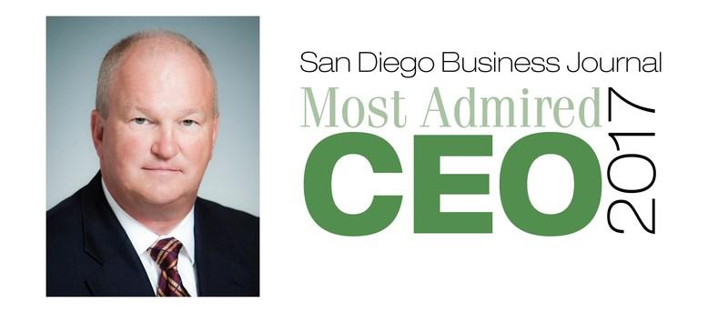 Ajinomoto Althea, Inc. CEO David Enloe Awarded 'Most Admired CEO'