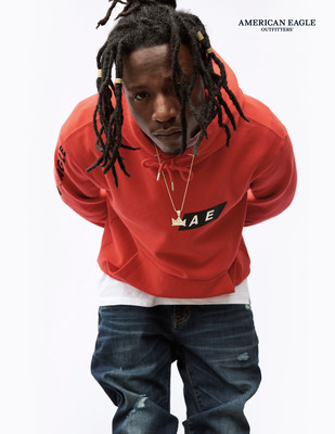 Joey Bada$$ in American Eagle Outfitters Fall 2017 Campaign
