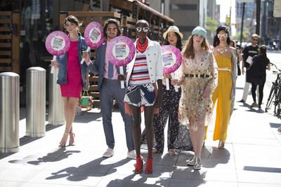 Dufferin Mall Pop-Up Fashion Show (CNW Group/Dufferin Mall)