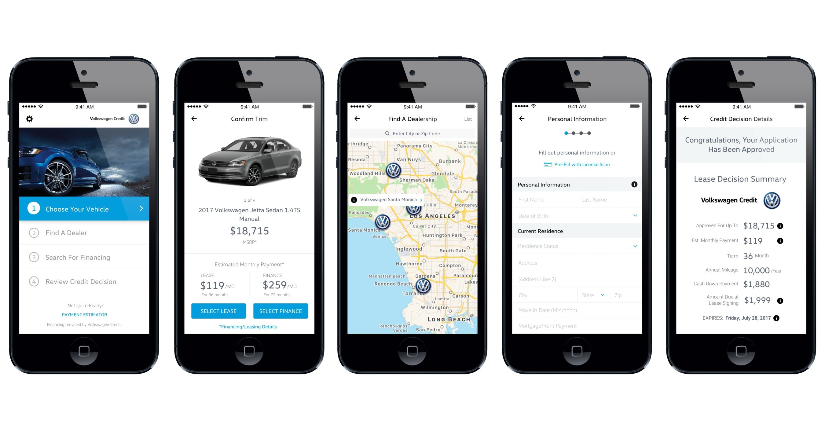 vw credit, inc., invests in autogravity leading financial