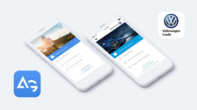 AutoGravity's Volkswagen Credit App