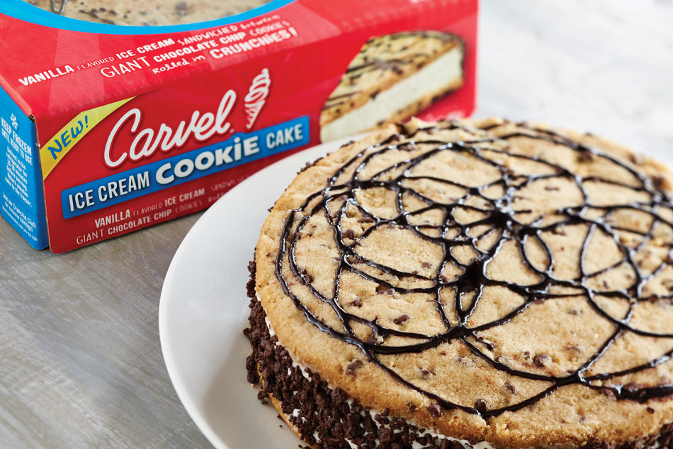 CARVEL® DEBUTS NEW ICE CREAM COOKIE CAKE AT GROCERY