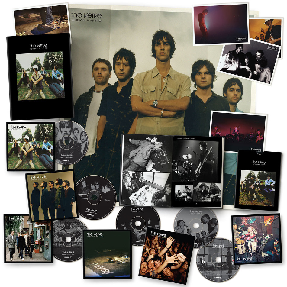 The Verve 'Urban Hymns' 20th Anniversary Editions (CD / Deluxe 2CD / Super-deluxe 5CD + DVD box / Super-deluxe 3LP box) To Be Released on September 1st on UMe