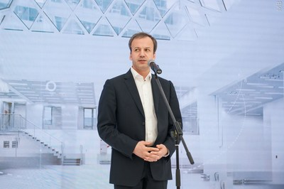 "Arkady Dvorkovich - Deputy Chairman of the Government of the Russian Federation, Chairman of the Supervisory Board of NITU ""MISIS"" (PRNewsfoto/NUST MISIS)"