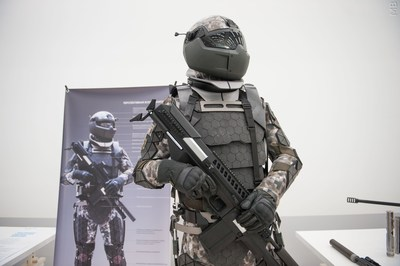 "Model of prospective combat equipment for RF State Research Centre JSC ""RPA ""CNIITMASH"" (PRNewsfoto/NUST MISIS)"