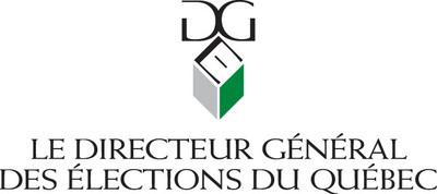 Logo : Directeur général des élections du Québec (DGEQ) (Groupe CNW/Directeur général des élections)