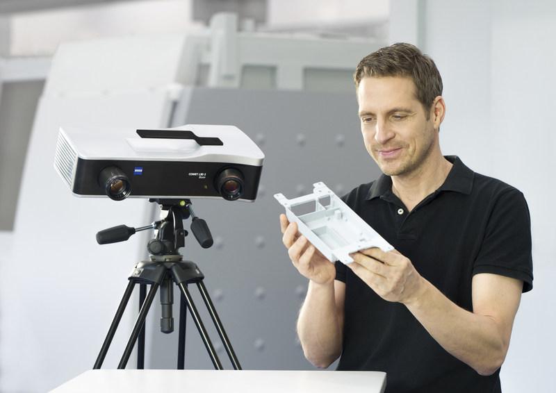 ZEISS expands 3D optical measurement line with new COMET L3D 2 Base