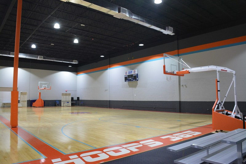 House of Hoops 365 features two fully-sized basketball courts.
