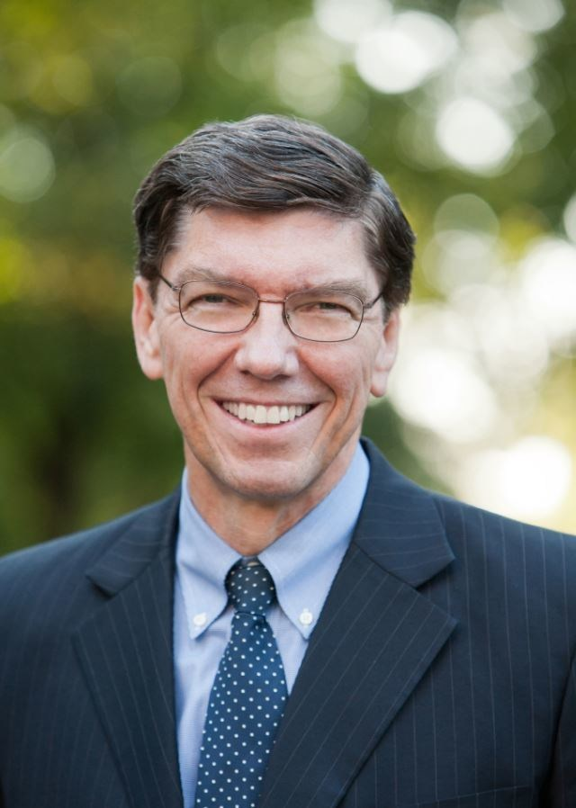 Clayton M. Christensen, author, innovator, and Harvard Business professor, will speak at Western Governors University's (WGU) summer commencement ceremony in Salt Lake City on Saturday, July 15.
