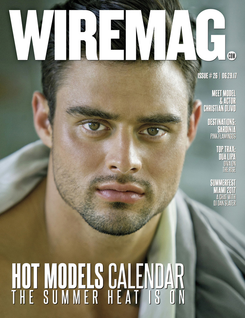Christian Olivo Wiremag Cover