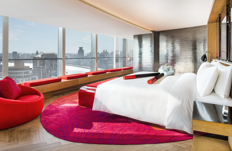 A Fantastic Suite at W Shanghai – The Bund.
