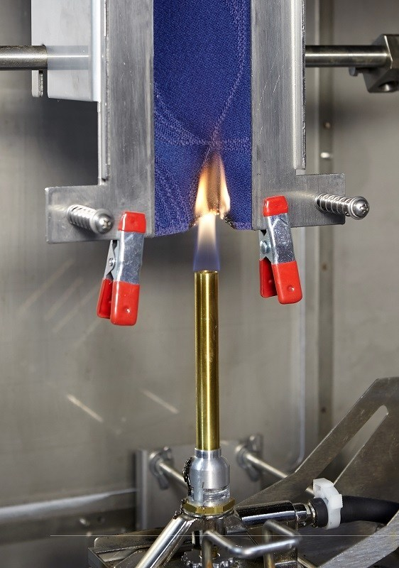 Expedited Flammability Testing for Quality Control