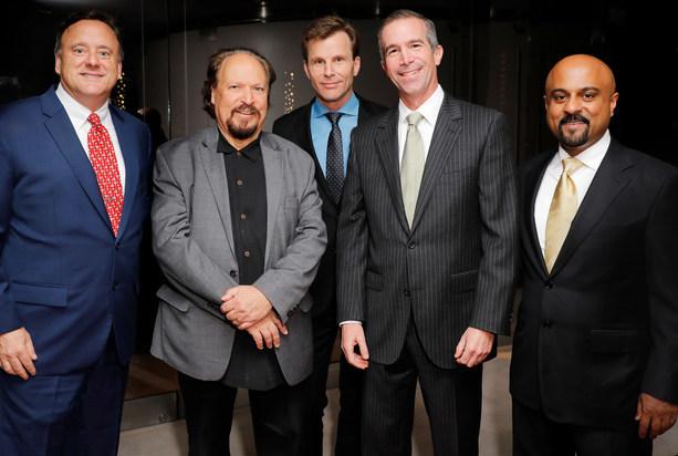 Dr. Chester Griffiths, Dr. Howard Krauss, Dr. Daniel Kelly, Erik Wexler & Dr. Santosh Kesari