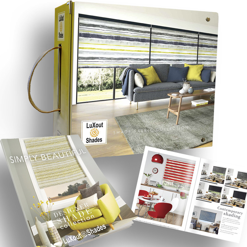 As part of its biennial refresh, LuXout Shades, a proprietary window treatments line that's manufactured by The Specialty Group Ltd. and offered exclusively to interior designers, is offering a fresh lineup of fabrics, along with a new reference binder and lookbook.