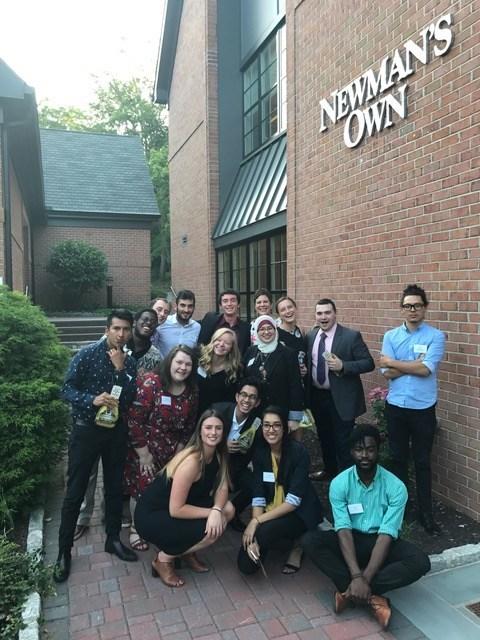 Newman's Own Foundation Fellows start their one-year fellowship.