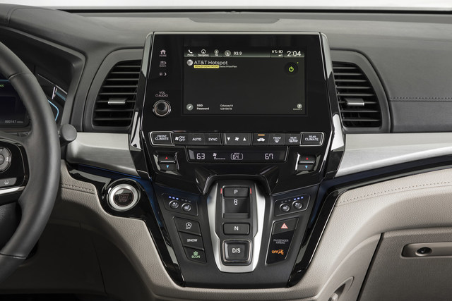 2018 Honda Odyssey: First Minivan with 4G LTE In-Vehicle Wi-Fi Offering Customers Unlimited Data from AT&T