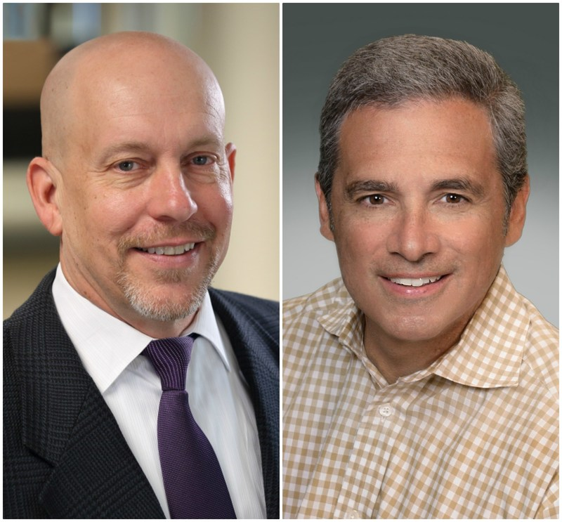 Pete Servold, U.S. Operations and Tony Moralejo, International Business