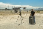 Airborne Drones Vanguard 35km long range surveillance drone ready to take flight (PRNewsfoto/Airborne Drones)