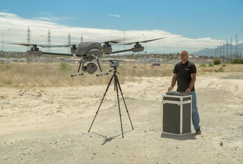 Airborne Drones Vanguard 35km long range surveillance drone ready to take flight (PRNewsfoto/Airborne Drones)