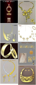 Finalists selected in Xifu International Gold Wedding Jewellery Design Competition 2017