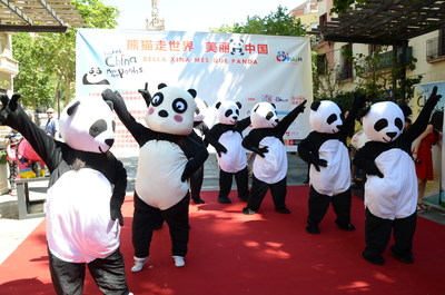 "Pandas abound on the streets of three Mediterranean cities on heels of global tourism marketing campaign ""Beautiful China, More than Pandas"""
