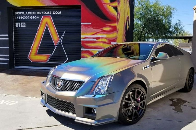 Apex Customs Psychedelic Cadillac CTS-V