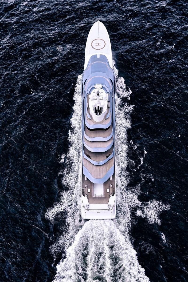 Oceanco delivers 110M/361FT Jubilee photo 1 (PRNewsfoto/Oceanco)