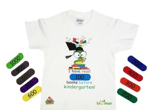 1000 Books Before Kindergarten Commemorative Interactive T-Shirt