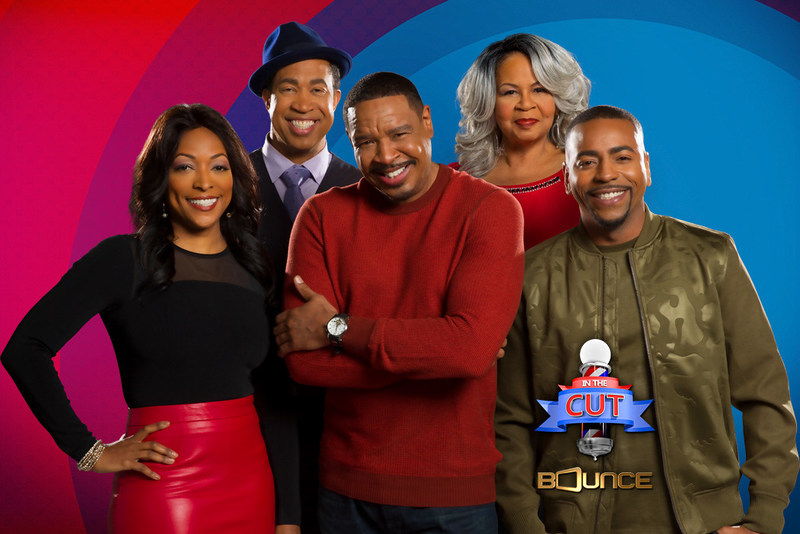 Bounce will double the laughs by kicking off season three of its hit sitcom In The Cut starring Dorien Wilson and Kellita Smith with two new original episodes back-to-back 9:00-10:00 pm. (ET) on Tues. July 11. All-new In The Cut episodes will continue to premiere Tuesday nights at 9:00 pm (ET) through the summer. Visit BounceTV.com for more information.