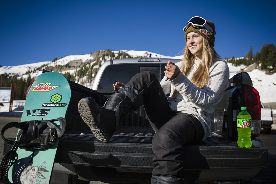 Professional snowboarder Julia Marino joins Mountain Dew as a sponsored athlete among its elite roster of riders including Danny Davis and Red Gerard.