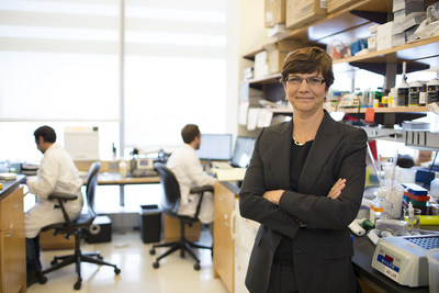 Internationally renowned surgeon-scientist Diane M. Simeone, MD, leads the new Pancreatic Cancer Center, a program of Perlmutter Cancer Center at NYU Langone. Photo courtesy of NYU Langone Medical Center