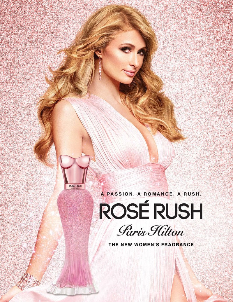 ROSÉ RUSH Paris Hilton Ad Creative