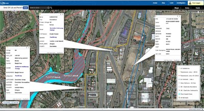 ENvision Map - Transmission Lines, Substations, Wetlands, Flood Hazards and Parcels for Deschutes County, OR