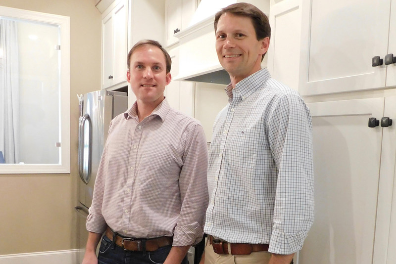 Russ Doyle (left) and Brooks Harris (right) founded Harris Doyle, which was acquired by Clayton Properties Group, in 2008.