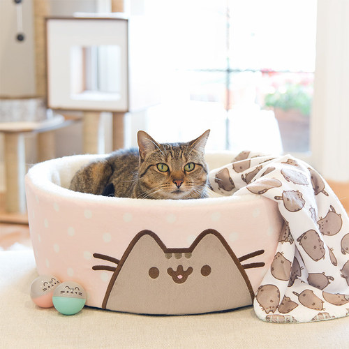 Petco today unveiled an exclusive collection of cat toys, beds, collars and bowls inspired by Pusheen the cat, now available online at Petco.com/Pusheen
