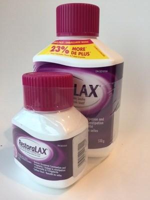 Le format 30+7 de RestoraLAX (Groupe CNW/Bayer Inc.)
