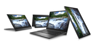 Dell Latitude 7000 12-inch 2-in-1 7285 Group Shot