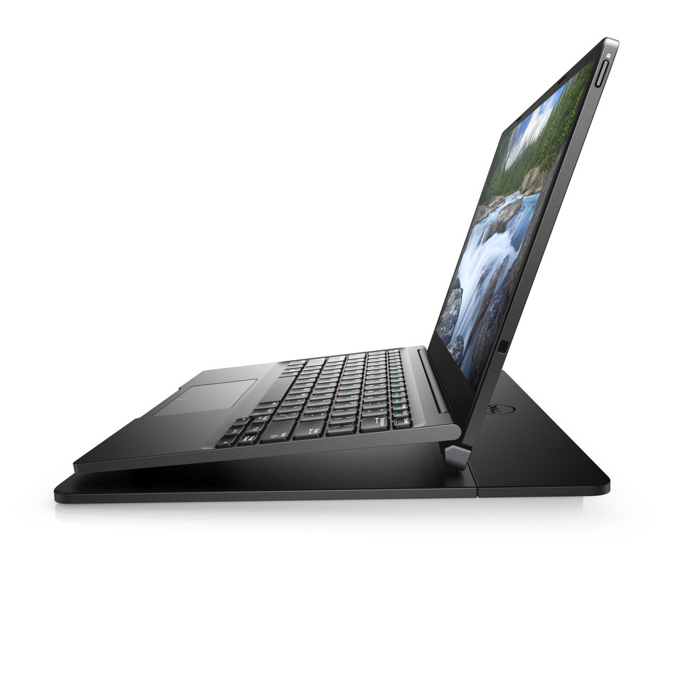 Dell Latitude 7000 12-inch 2-in-1 7285 Wireless Charging Side View