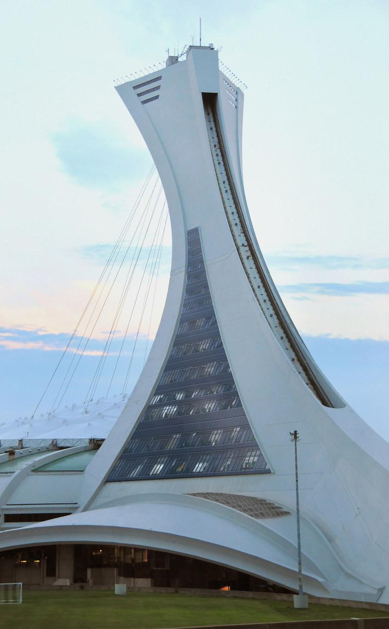 Nouveaux murs rideaux (jour) (Groupe CNW/Parc olympique)