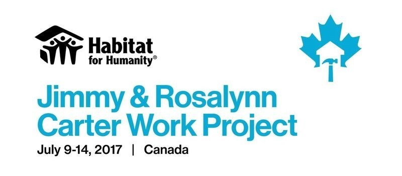 Habitat's Jimmy & Rosalynn Carter Work Project (CNW Group/Habitat for Humanity Canada)