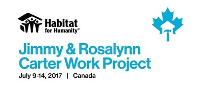 Habitat's Jimmy & Rosalynn Carter Work Project (CNW Group/Habitat for Humanity Canada)