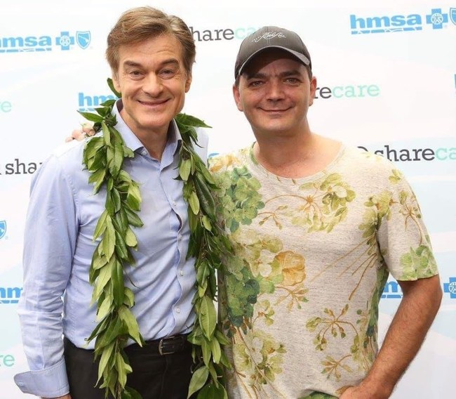 Brian Evans and Dr. Oz recently discussed Sleep Apnea on Maui. Evans provided him copies of the 35 Sleep Apnea Proclamations governors have given him so far. He awaits 15 more.