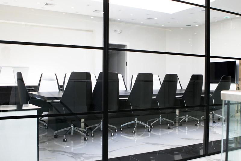 The Southern Telecom executive meeting room.