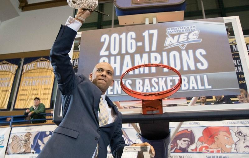 Mount St. Mary's University head men's basketball coach Jamion Christian.