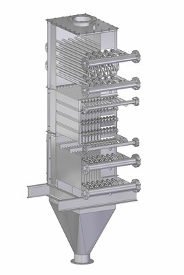 Solex Combination Design Heat Exchanger (CNW Group/Solex Thermal Science Inc)