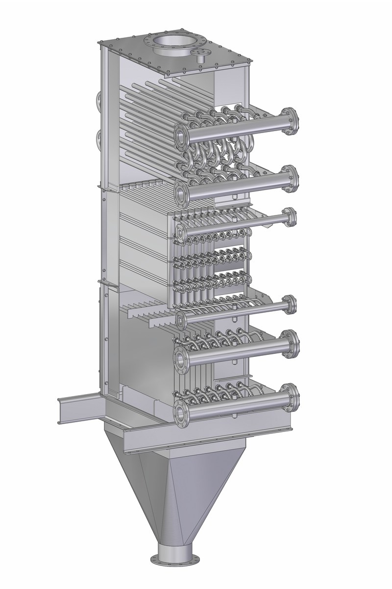 Solex Combination Design Heat Exchanger (CNW Group/Solex Thermal Science Inc)