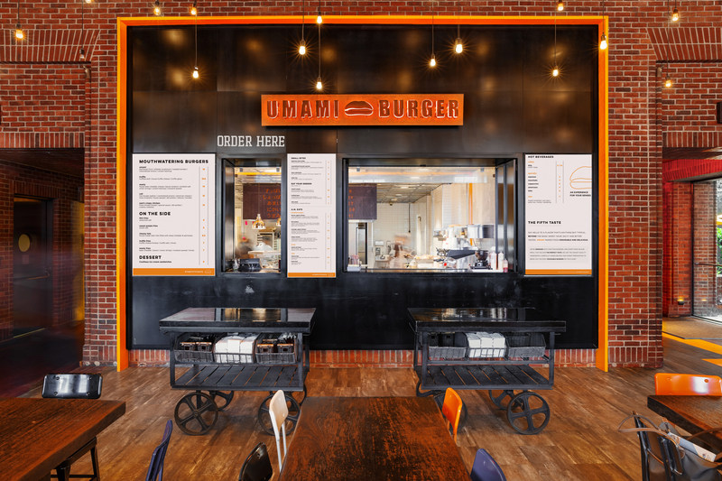 Umami Burger Order Window