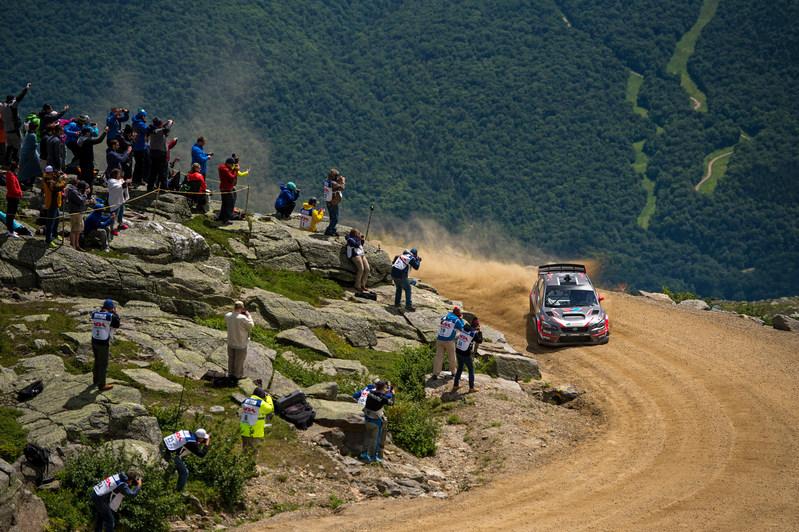 Travis Pastrana Slides His Subaru to a New Record at the Mt. Washington Hillclimb